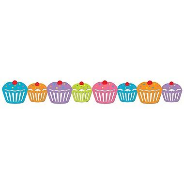 Creative Teaching Press® Toddler - 12th Grade Stencil-Cut Jumbo Border, Cupcakes