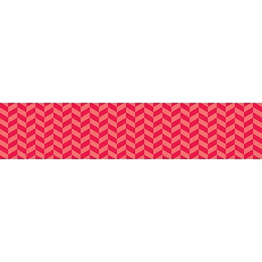 Creative Teaching Press® Prek - 6th Grade Herringbone Border, Poppy Red