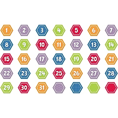 Creative Teaching Press® HexaFun Calendar Day, Hexagon