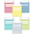 "Creative Teaching Press® 6 1/2"" x 9"" Solid Jumbo Library Pocket, Chevron"