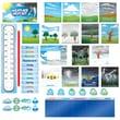 Creative Teaching Press® Mini Bulletin Board Set, Weather Report