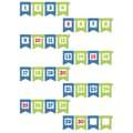 Creative Teaching Press® Mini Bulletin Board Set, Chevron Pennants Number Line
