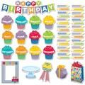 Creative Teaching Press® Mini Bulletin Board Set, HexaFun Happy Birthday