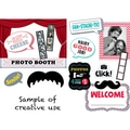 Creative Teaching Press® Bulletin Board Set, Mustache Mania Photo Booth