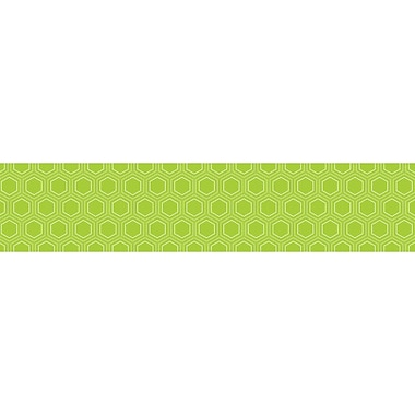 Creative Teaching Press® infant - 12th Grade Mini Hexagons Border, Lime Green