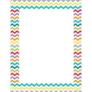 "Creative Teaching Press® Chevron Computer Paper, 8 1/2"" x 11"""