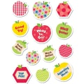 Creative Teaching Press® HexaFun Sticker, Apples