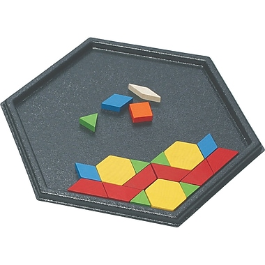 Learning Advantage™ Hexagon Pattern Block Tray