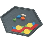 Learning Advantage™ Hexagon Pattern Block Tray