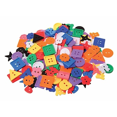 Learning Advantage CTU7177 Assorted Buttons, 575/Pack