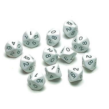 Learning Advantage™ 10-Sided Polyhedra Dice Game