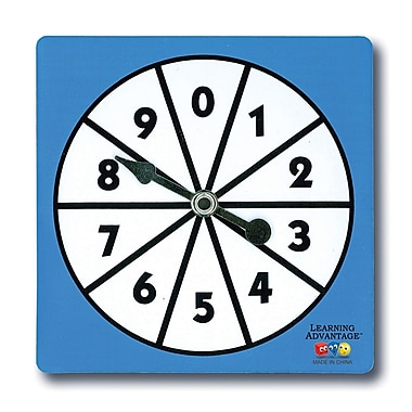 Learning Advantage™ 0-9 Number Spinners
