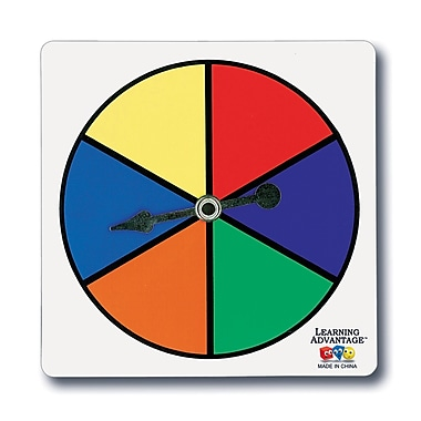 Learning Advantage™ Six Color Spinners