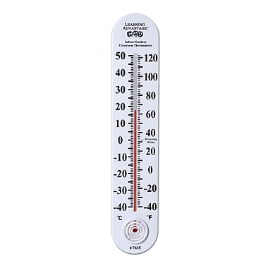 Learning Advantage™ Indoor/Outdoor Classroom Thermometer