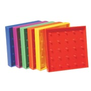 "Learning Advantage™ 5"" x 5"" Plastic Geoboard, 11 x 11 Pin"