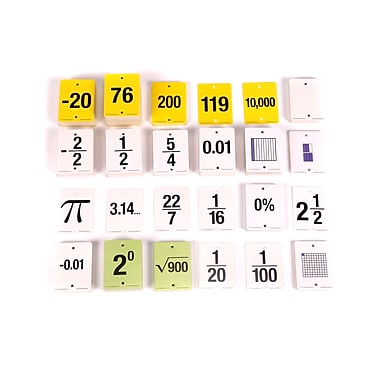 Learning Advantage™ F.U.N.™ Empty Number Line Cards, Grades 6-8
