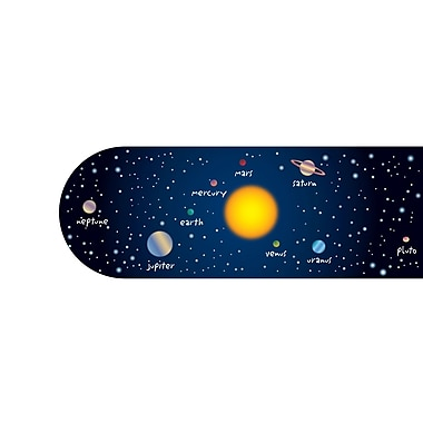 Dowling Magnets Solar System Magnetic Bookmark, Grade K -12th