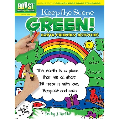 Dover® Boost™ Keep the Scene Green! Coloring Book