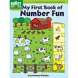Dover® in.BOOST My First Book of Number Funin. Book, Grade 1st - 2nd
