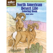 Dover® Boost™ North American Desert Life Coloring Book
