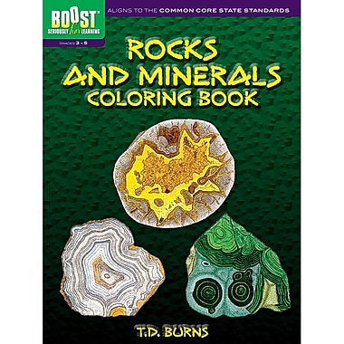Dover® Boost™ Rocks And Minerals Coloring Book