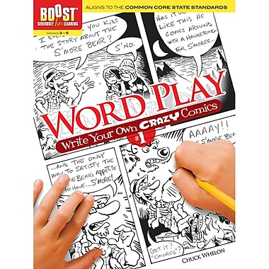 Dover® Boost™ Word Play Coloring Book
