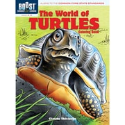 Dover® Boost™ The World of Turtles Coloring Book