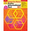 Evan-Moor® in.Reading Informational Text: Common Core Masteryin. Book, Grade 6th