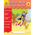 Evan-Moor® in.Stories to Read, Words to Knowin. Book, Level A