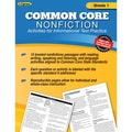 Edupress® in.Common Core Nonfictionin. Activity Book, Grade 1st
