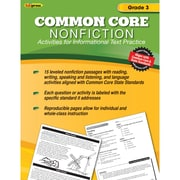 "Edupress® ""Common Core Nonfiction"" Activity Book, Grade 3rd"