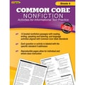 Edupress® in.Common Core Nonfictionin. Activity Book, Grade 4th