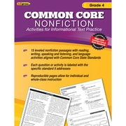 "Edupress® ""Common Core Nonfiction"" Activity Book, Grade 4th"
