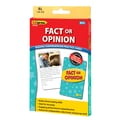 Edupress® Fact or Opinion Reading Comprehension Practice Card, Yellow