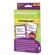 "Edupress® ""Common Core"" Vocabulary Task Card, Grade 4th"