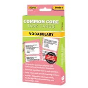 "Edupress® ""Common Core"" Vocabulary Task Card, Grade 6th"