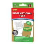 Edupress® Informational Text Reading Comprehension Practice Card, Green
