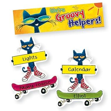 Edupress® Pete the Cat® Mini Bulletin Board Set, Groovy Classroom Jobs
