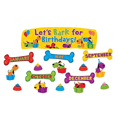 Edupress® Mini Bulletin Board Set, Let's Bark for Birthdays