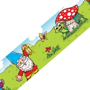 Edupress® Preschool - 3rd Grade Bulletin Board Border, Gnomes Spotlight