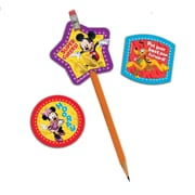 Eureka® Characters Lenticular Pencil Topper, Micky Mouse Clubhouse, 24/Pack
