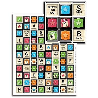 Eureka® Mini Sticker, Scrabble