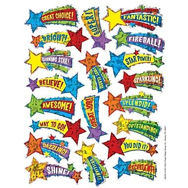 Eureka® Sparkle Sticker, Shooting Stars