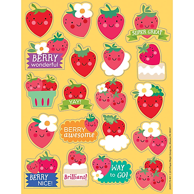 Eureka® Scented Sticker, Strawberry