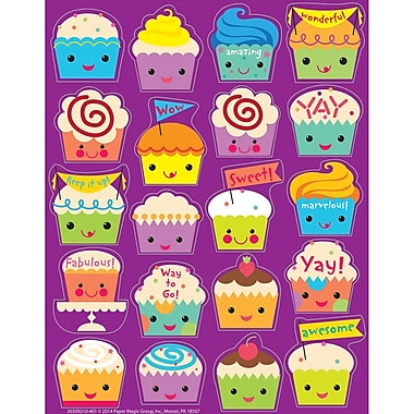 Eureka® Scented Sticker, Cupcake