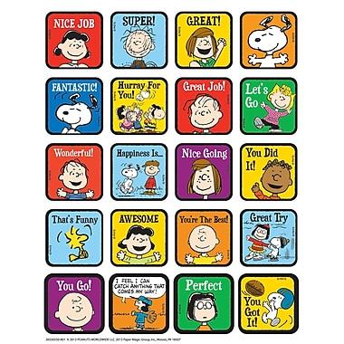Eureka® Motivational Theme Sticker, Peanuts