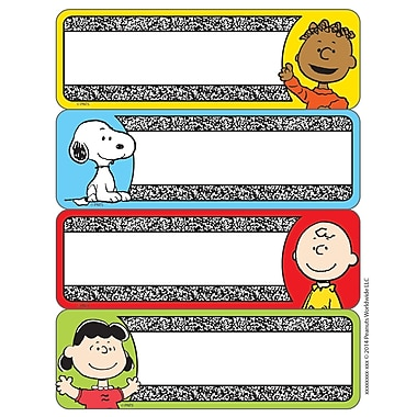 Eureka® Composition Label Sticker, Peanuts