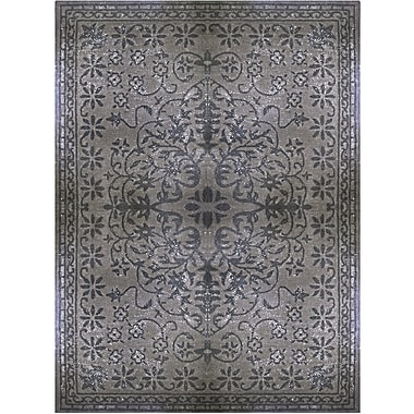 Lanart Epoch Area Rug, 8' x 10', Charcoal