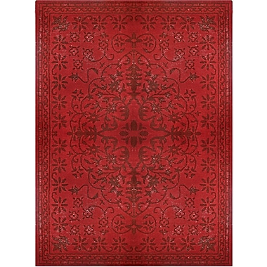 Lanart Epoch Area Rug, 8' x 10', Red