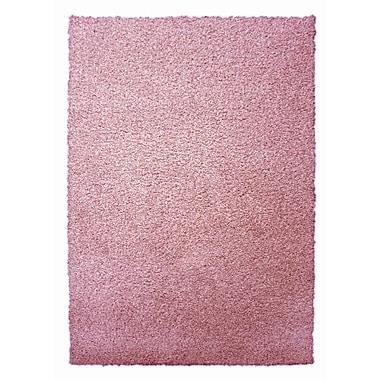 Lanart Modern Shag Area Rug, 4' x 6', Pink Flamingo